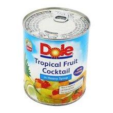 Cocktail trái cây nhiệt đới Dole lon 836g