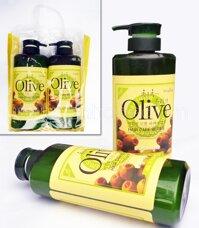 Combo 2 chai dầu gội và dầu xả Olive 800ml/ chai