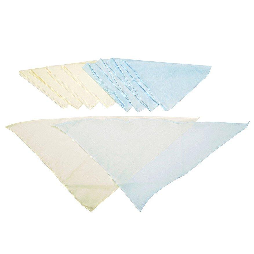 Combo 20 Tã Vải Màu Sơ Sinh Nanio A0054