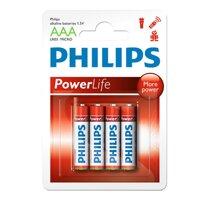 Combo 3 Vĩ Pin Kiềm Philips AAA LR03P4B - 12 viên