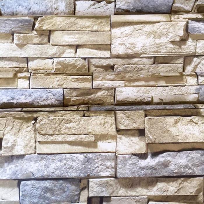 Combo 5m decal dán tường đá 3D 4 BinBin DTL41