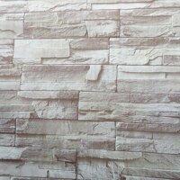 Combo 5m giấy dán tường đá 3D 3 BinBin DTL15
