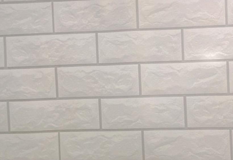 Combo 5m giấy dán tường gạch xám BinBin DTL24