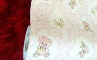 Combo 5m giấy dán tường gấu Teppy BinBin DTL27
