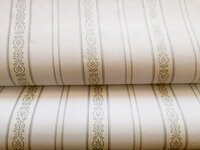 Combo 5m giấy dán tường họa tiết sọc trắng BinBin DTL34