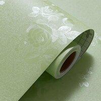 Combo 5m giấy dán tường hoa xanh BinBin DTL31