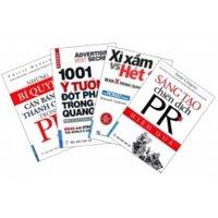 Combo bí kíp PR (Bộ 4 cuốn)