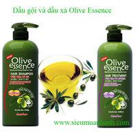 Combo dầu gội và dầu xả Olive Essence