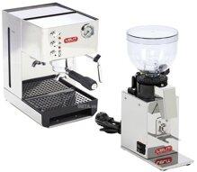 Combo máy xay và pha cà phê Lelit PL41EM và PL043MMI