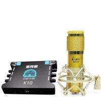 Combo micro Ami BM-900 + Soundcard XOX K10
