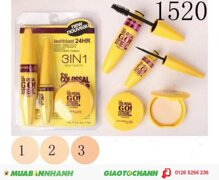 Compo bộ make up Maybelline 3 in 1