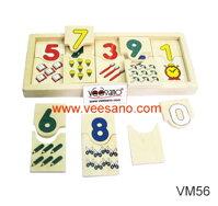 Con số & đồ dùng của bé Veesano VM56