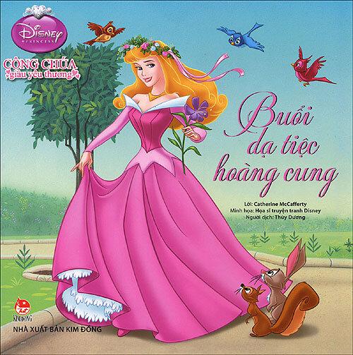 Công chúa giàu yêu thương - Buổi dạ tiệc hoàng cung (Disney)