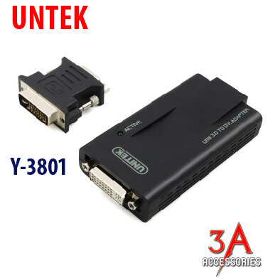 Cổng chuyển USB3.0 to DVI Y-3801