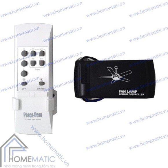 Công tắc điều khiển quạt trần từ xa Homematic POSCO F6
