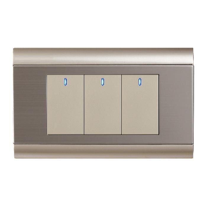 Công tắc LED ba 1 chiều ArtDNA C9-7