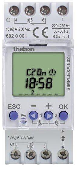 Công tắc thời gian Theben Simplexa 602
