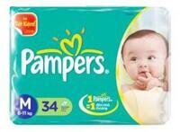 Tã dán Pampers M34 (dành cho trẻ từ 6-11kg)