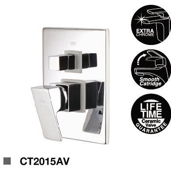 Củ sen tắm nóng lạnh âm tường Cotto CT2015AV