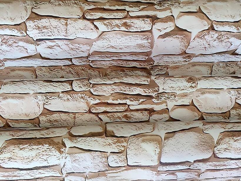 Cuộn 5m giấy dán tường đá 3D BinBin DTL45