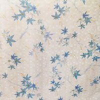Cuộn 5m giấy dán tường hoa lá xanh BinBin DTL06