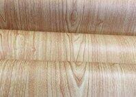Cuộn 5m giấy dán tường vân gỗ 2 BinBin DTL40