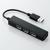 Bộ chia 4 cổng USB Elecom U2H-SS4BBK (màu đen)
