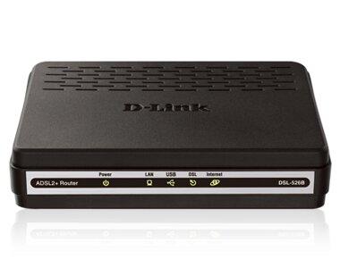 D-Link DSL-526B ADSL2+ Ethernet/USB Combo Router