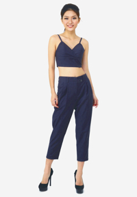 Set quần Baggy và áo Crop-top La Belle DP6