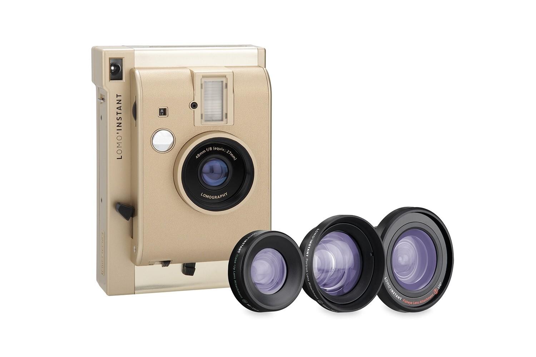 Máy ảnh chụp lấy ngay Lomography Lomo'Instant + Lenses Yangon