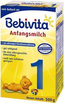 Sữa bột Bebivita 1 - hộp 500g (dành cho bé từ sơ sinh đến 6 tháng)