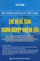 Hệ Thống Kế Toán Việt Nam , Chế Độ Kế Toán Doanh Nghiệp Nhỏ Và Vừa