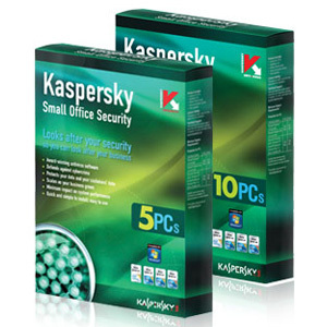 Phần mềm diệt virut Kaspersky Small Office Security(1Ser+10PC) Small O...