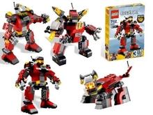 Bộ xếp hình Rescue Robot cứu hộ V29 Lego 5764