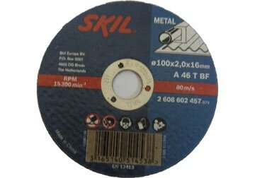 Đá cắt sắt Skil 2608602457, 100 x 2 x 16mm