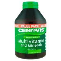 Đa vitamin khoáng chất cho nam giới Cenovis Vitamins & Minerals 125 viên