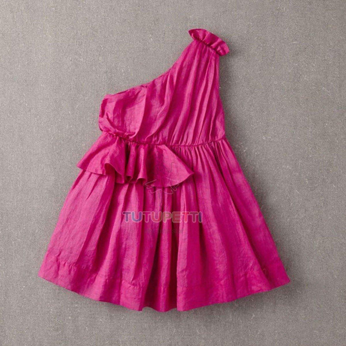 Đầm bé gái lệch vai Poppy 16323