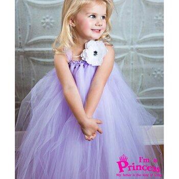 Đầm công chúa cho bé gái Princess PR07
