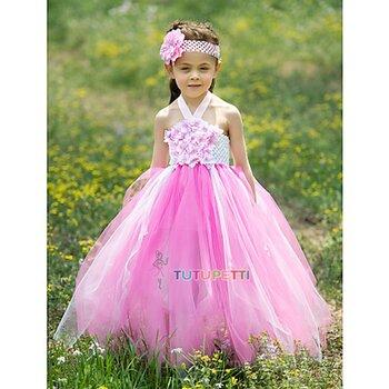 Đầm công chúa dễ thương cho bé MLS09