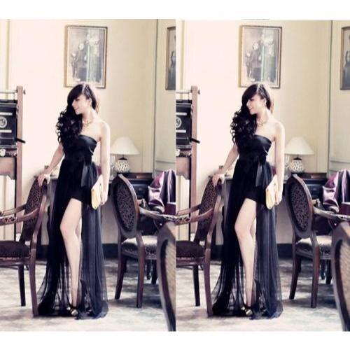 Đầm cúp ngực dài thiết kế giống bella