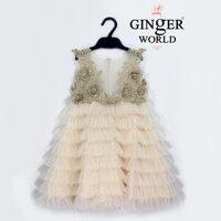 Đầm dự tiệc cho bé Ginger World HQ644