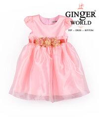 Đầm dự tiệc GINgER World HQ406 Hồng dâu