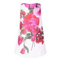 Đầm hoa gấm in 3D Cuckeo HC 604
