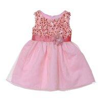Đầm kim sa cho bé dự tiệc HQ13