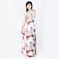 Đầm maxi dài họa tiết hoa sang trọng CIRINO