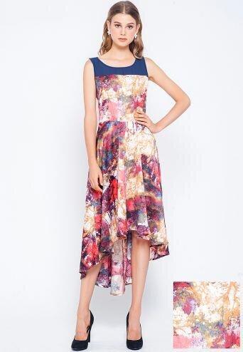 Đầm mullet họa tiết hoa không tay Lamer LMH03703824