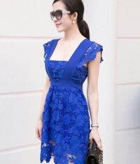 Đầm Ren Hoa Phối Cao Cấp