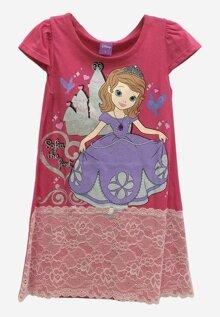 Đầm suông bé gái Disney Sofia SFDR-0044