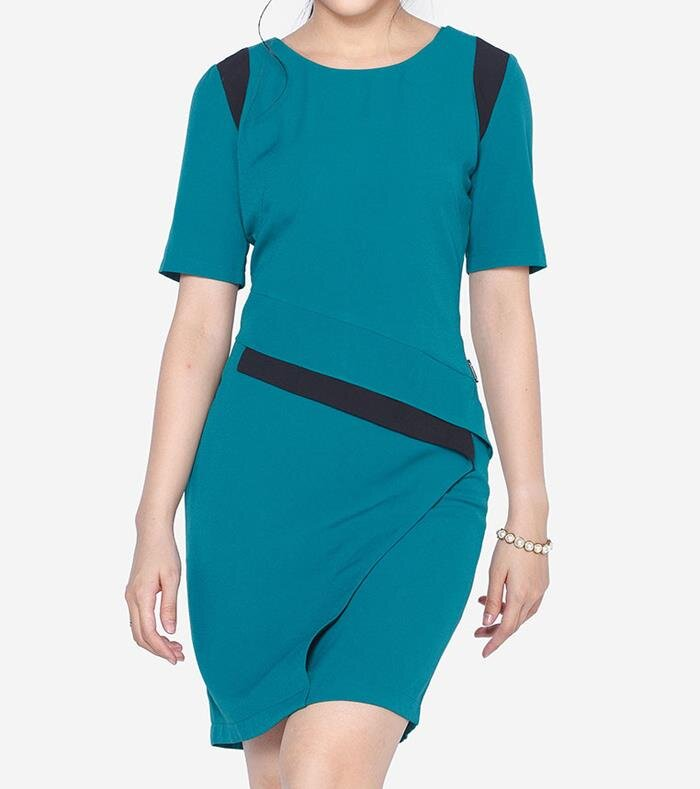 Đầm tay lỡ The One Fashion DDC0671XL