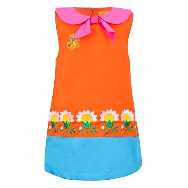 Đầm thêu họa tiết hoa cúc VTA BG70105